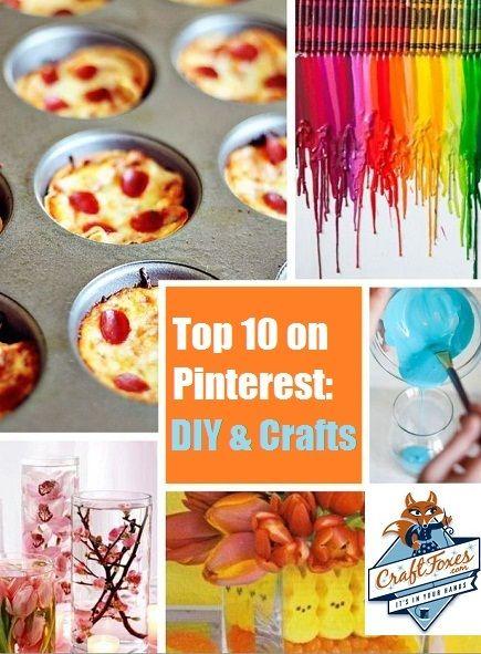 DIY Projects Pinterest | Pinteresting Crafts — Top 10 Pinterest DIY Projects - Craftfoxes