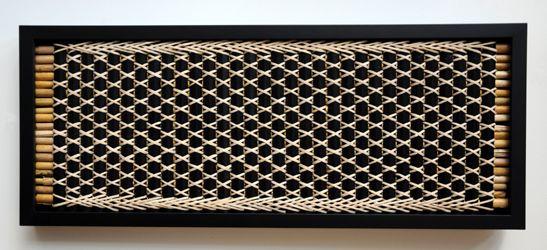 Kohai Grace Kura Gallery Maori Art Design New Zealand Weaving Tukutuku Panel Purapura whetu kiekie kakaho