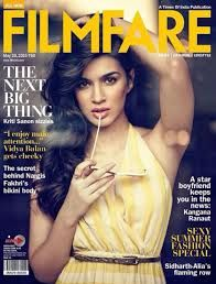 Filmfare magazine by the Times Group --- the largest media business conglomerate and one of the most popular entertainment magazine in India of India,It is an English-language, tabloid-sized magazine about Hindi-language cinema, popularly known as Bollywood. To book you ad Bollywood's famous magazine through releaseMyAd.
