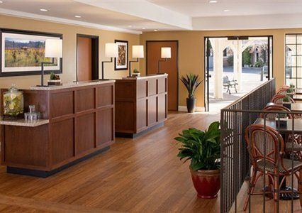 Napa is known for its great wineries, and you don't even have to leave the hotel to enjoy great wine.  Sample  the best of Napa in our charming wine tasting area for a thrilling  start to your day or as a great way to unwind - Ascend Hotel Collection® Napa Winery Inn #GoNative#contestentry