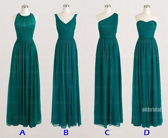 Mismatched bridesmaid dresses cheap bridesmaid dresses by okbridal, $126.00