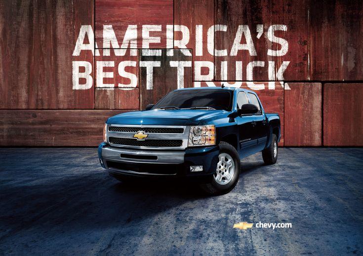 America's Best Truck. It better be Americas Best truck!!!! It's the worlds best truck for god sakes :)