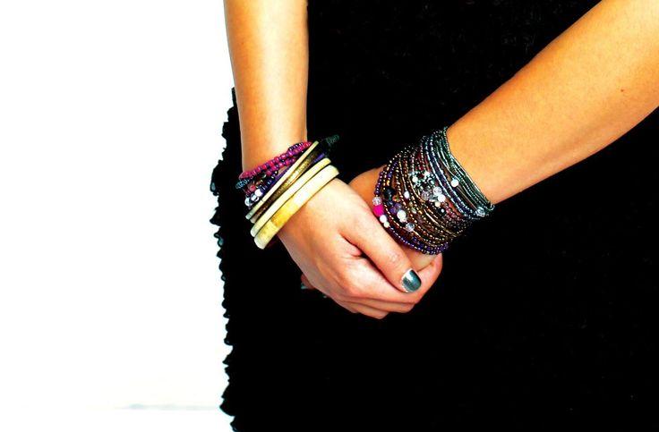 Wrap around perle armbånd fra EliZa Copenhagen - kig forbi og find lige netop din favourit.