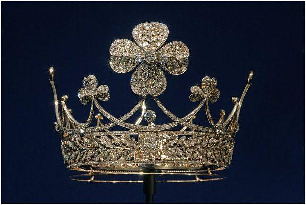 Empress Augusta Viktoria's Clover Crown