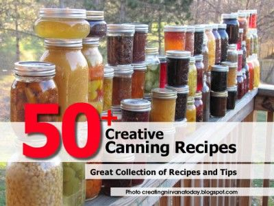 50  Creative Canning Recipes There may be one here for You to try.