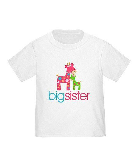 White 'Big Sister' Top