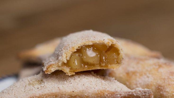 Estas tortinhas de maçã são simplesmente deliciosas!