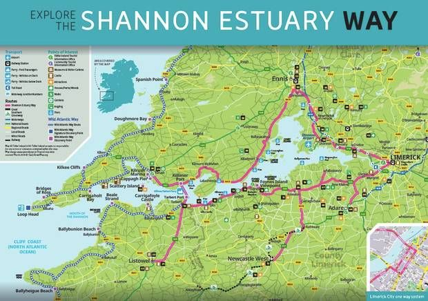 Shannon Estuary Way New Wild Atlantic Way Drive Viewpoints
