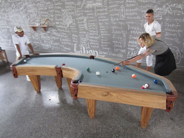 Yes, This Cuba Shaped Pool Table Is Art