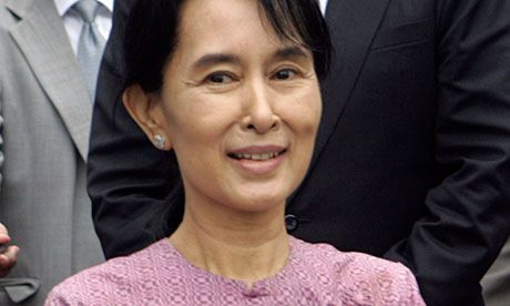 Aung San Suu Kyi is Burmese politician who fought for freedom and democracy for her country in non violent way. During her fight, she suffered from hardship  . Her moral power has changed the world especially Burma peacefully and many has look up to her as an influential figure. Her efforts in leading the Burma to democracy has earned her the Nobel Peace Prize while still under house arrest for most of the past two decades.