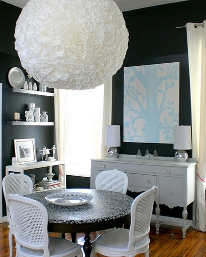 Coffee Filter Chandelier - DIY - I like the texture. Consider for chandeliers.