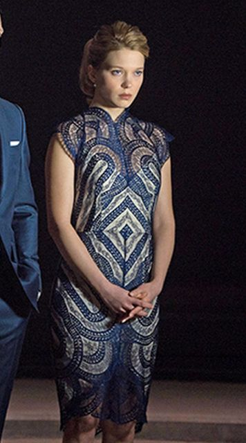l a seydoux wore solstiss lace in james bond 39 s movie spectre james bond 007 spectre. Black Bedroom Furniture Sets. Home Design Ideas
