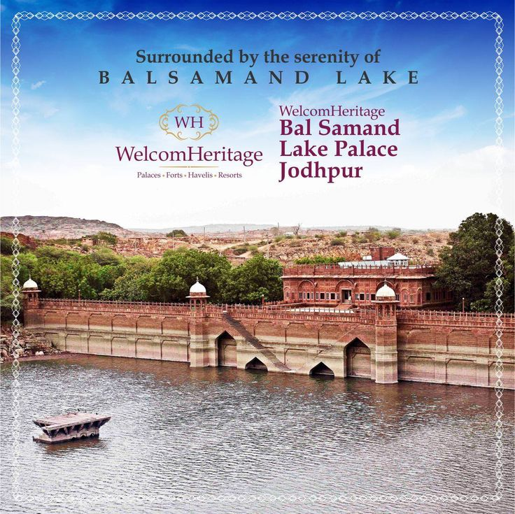 Built by the then Royalty during the 13th century, to fulfill the water necessities in and around the area , this location has now boomed to become a stunning tourist spot with its heavenly aura. WelcomHeritage Balsamand lake Palace, lies in the vicinity of this still and clear lake.