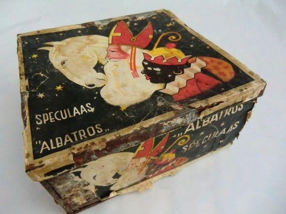 Was mijn lievelingsblik op Terschelling 'Oude' Speculaas blik van het merk Albatros