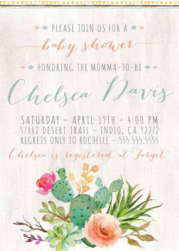 149 best images about chick on pinterest   dream catchers, aztec, Baby shower invitations