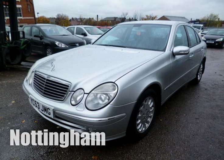 2003 Mercedes E 320 Avatgarde CDI, automatic, 3200cc #onlineauction #johnpyeauctions #carsforsale #mercedes #cars