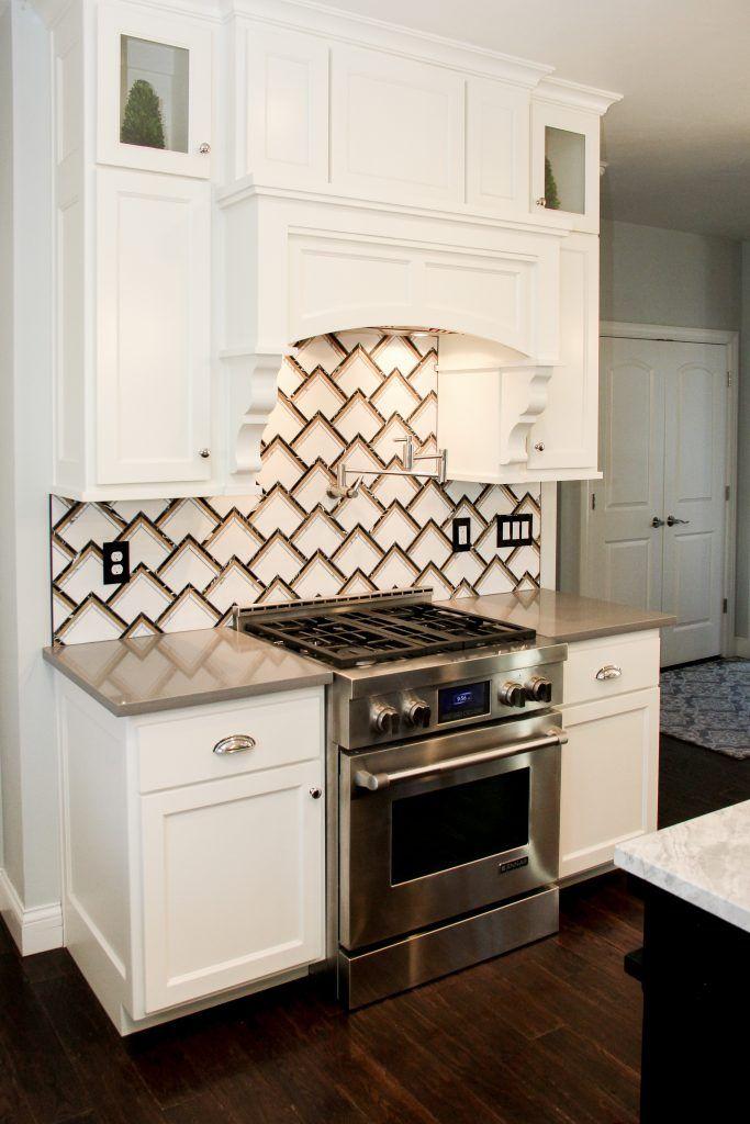 White Backsplash Tile Exterior