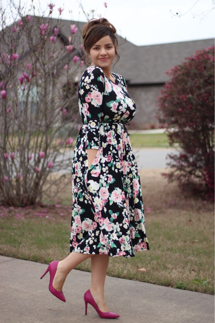 How perfect is our Adeline dress? These are going fast! Get one before they are gone!