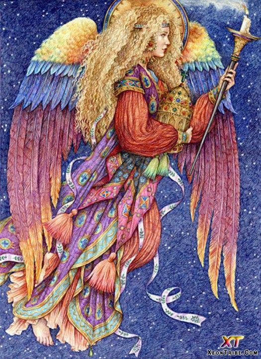 Haniel, the angel of joy.  I love the coloration.