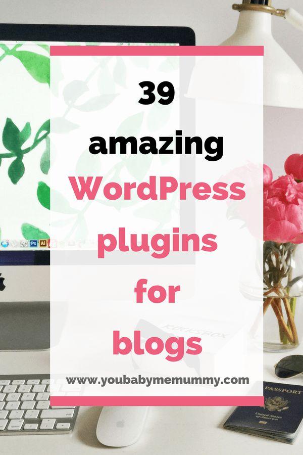 39 Amazing WordPress Plugins For Blogs