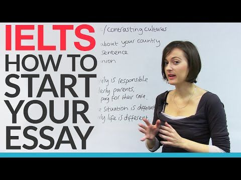 How to Write IELTS Essay Introductions – The Quick & Easy Way! - YouTube