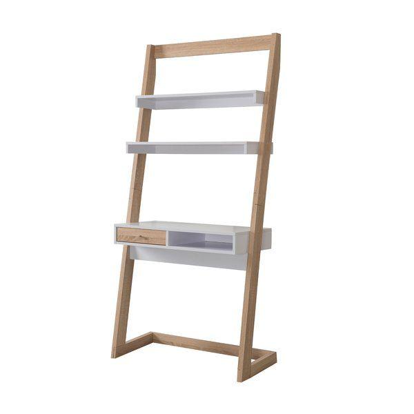 Blitar Ladder Desk Reviews Allmodern Ladder Desk Leaning Desk Home Office Decor