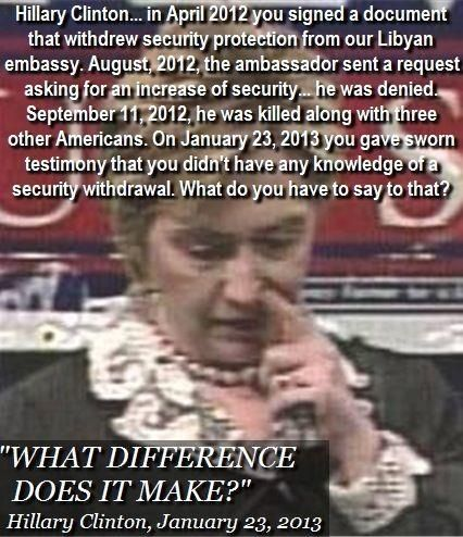 Pass this around just because it's disgusting and embarrassing as hell to the lying incompetent hag.