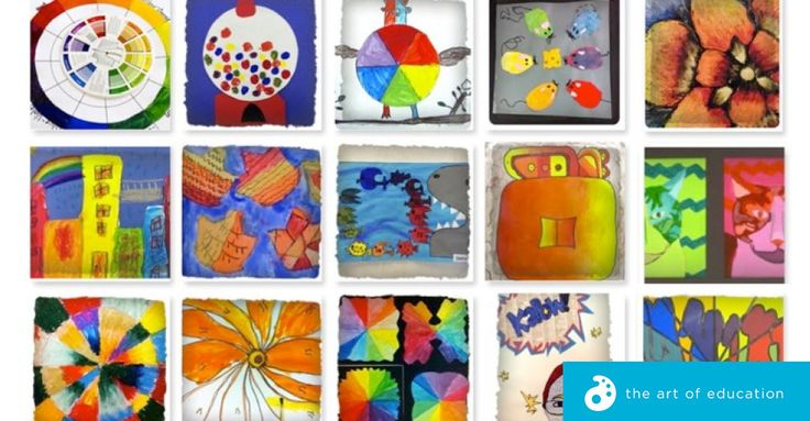 Our Favorite Ways to Teach Color Theory in One Place! -