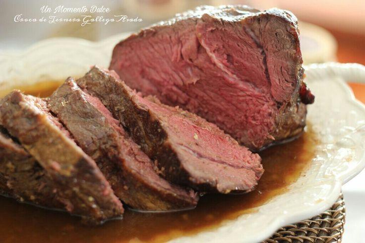 Esta parte de la carne de la Ternera, la CADERA O CROCA, es super tierna y jugosa, cuando preparó filetes es siempre la parte que escojo. ...