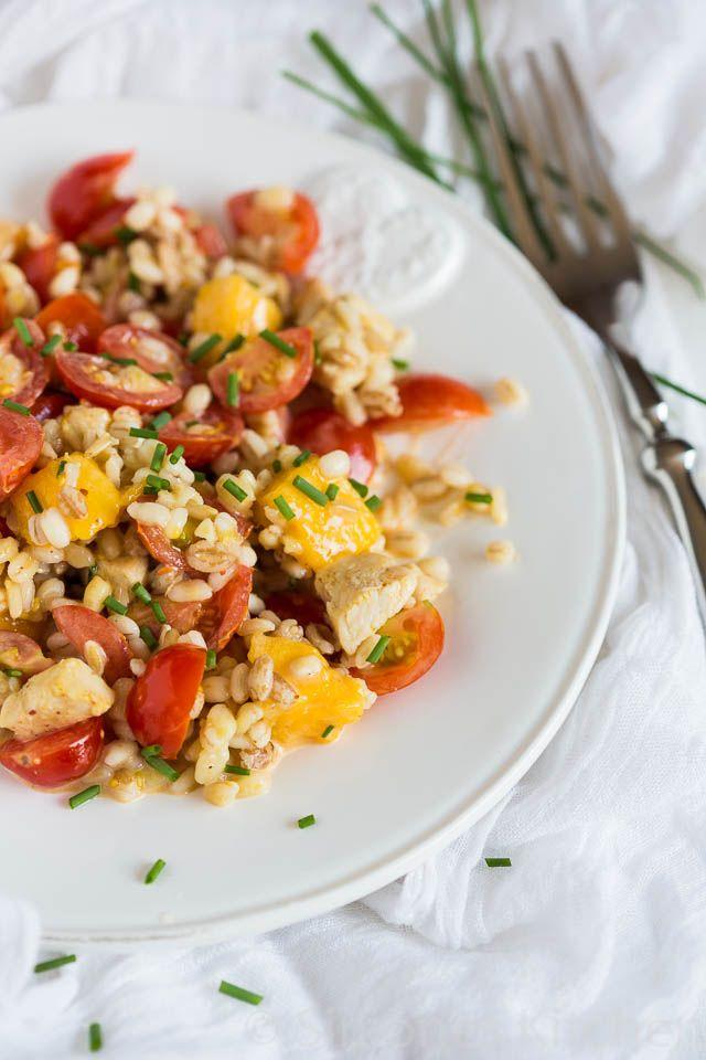 Gemengde graan salade met tomaat en mango - Simone's Kitchen