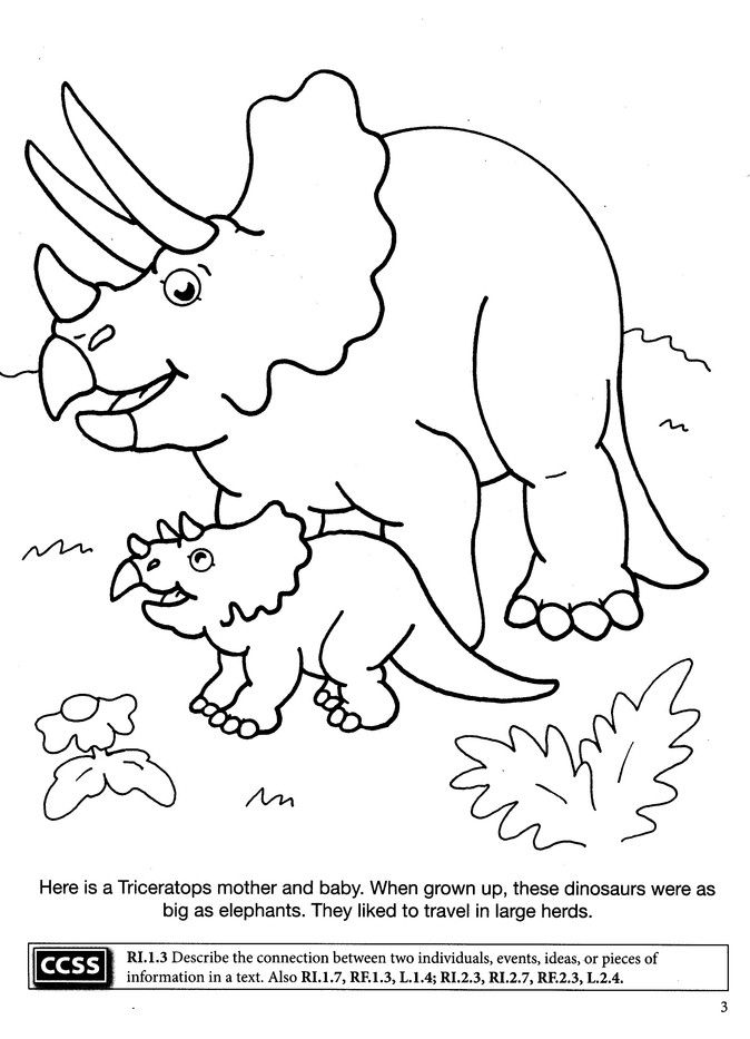 Dinosaurs Coloring Book Dinosaur Coloring Pages Baby Coloring Pages Coloring Pages