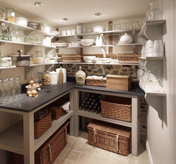 ber ideen zu speisekammer regale auf pinterest vorratskammern unter der treppe und. Black Bedroom Furniture Sets. Home Design Ideas