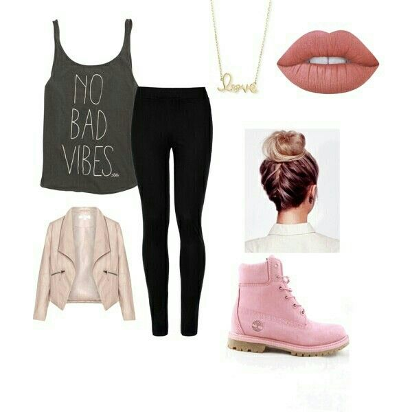 A cute everyday outfit for school relaxing at home or going out somewhere. Made using polyvore ...