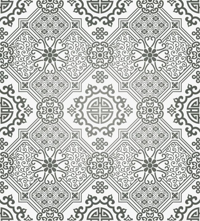 Vector Classical Pattern Background Pattern Vector Vector