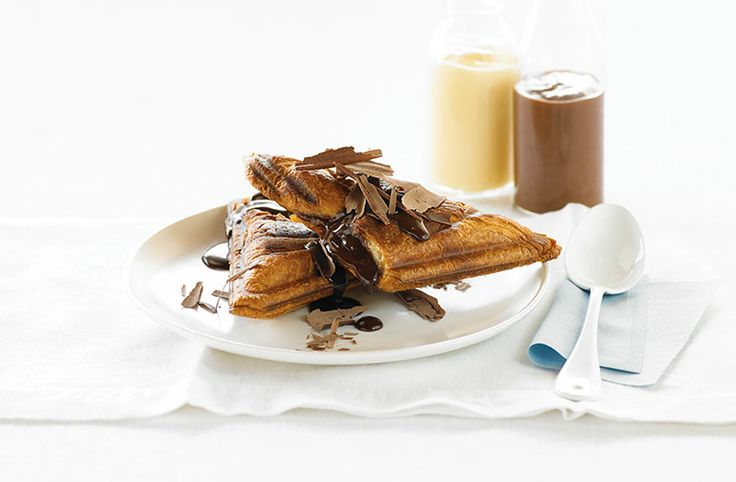 Hot Chocolate and Custard Jaffle - Food Thinkers by Breville - Blog