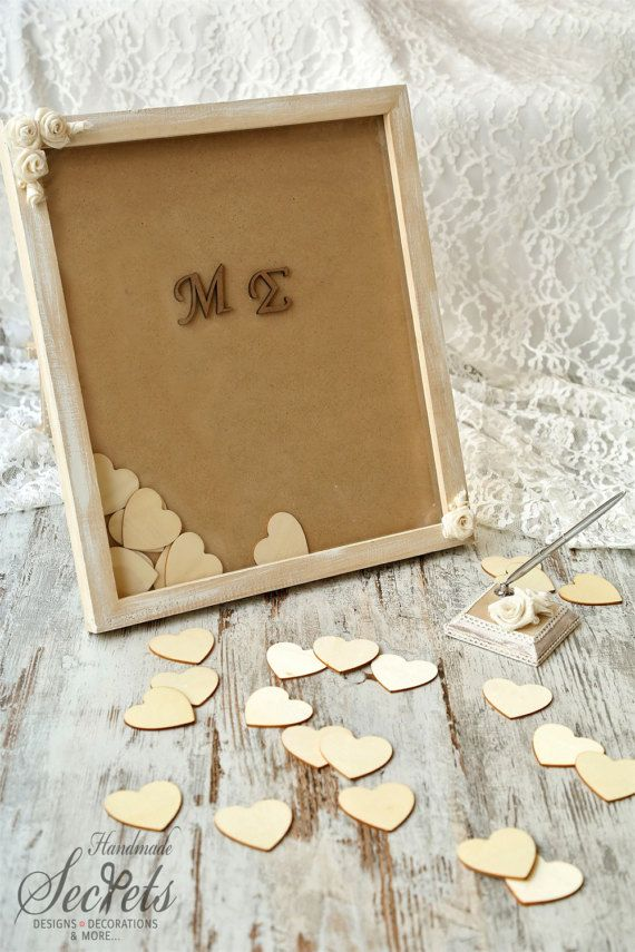 Wedding Guest Book Wedding Favors Wedding Frame Wedding