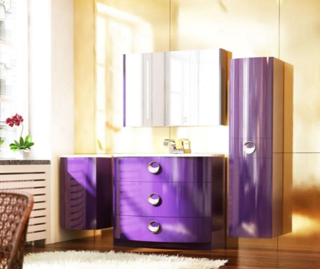 en güzel renkli banyo dolabı modelleri