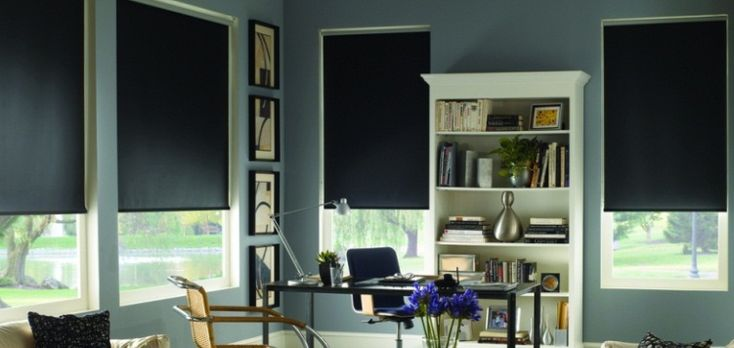 Blackout Sheerweave Roller Shades Custom Blinds The O