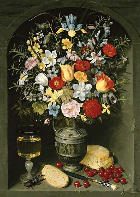 Georg Flegel Floral Still Life Early 17th century