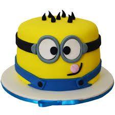 Original torta para fiesta de cumpleaños Minions