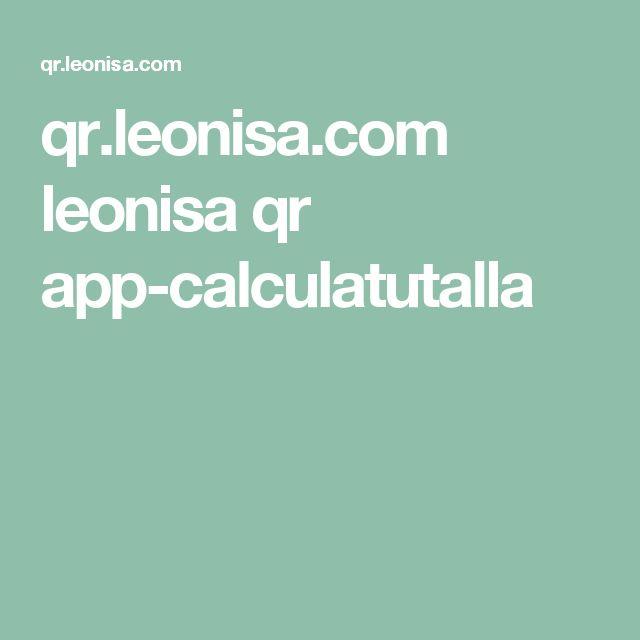 qr.leonisa.com leonisa qr app-calculatutalla