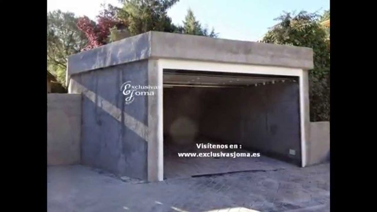 Terminacion de garaje independiente  en Tres Cantos  finalizacion