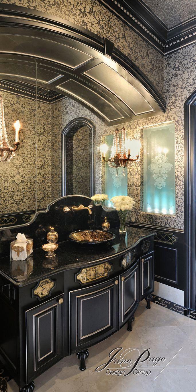 Black and Gold Bathroom Decor Luxury 57 Best Powder Rooms ...