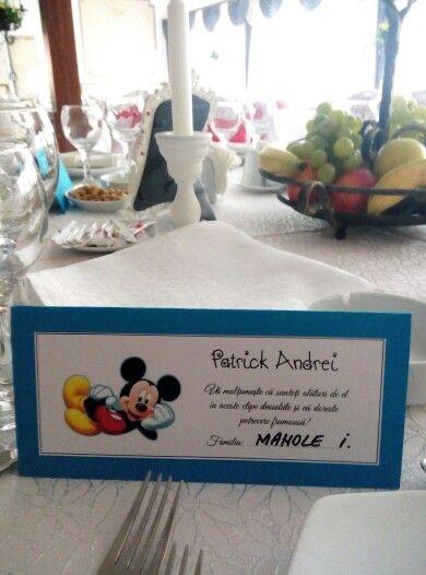 Plicuri de bani Mickey Mouse