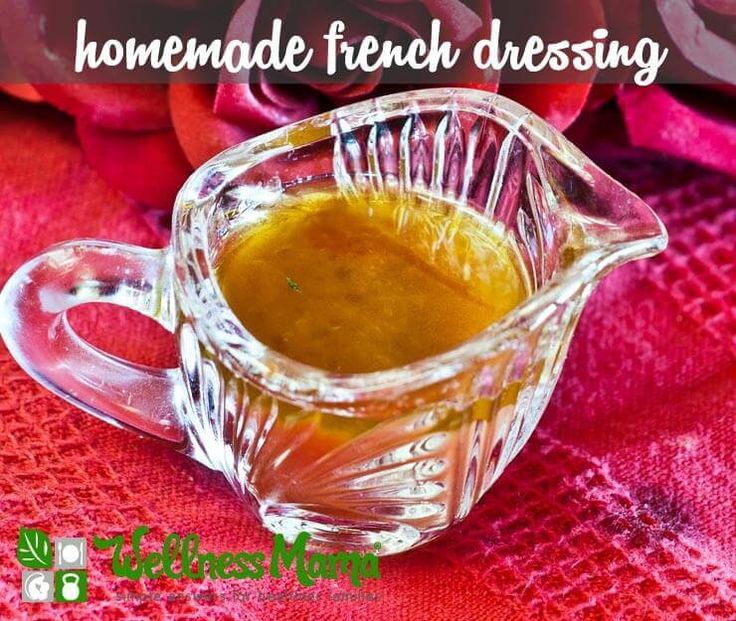 This delicious homemade French dressing is a great alternative to store bought dressings. Made with all real food ingredients.