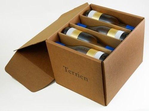 Terrien Wines Shipping Box - A UES Original