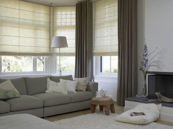 25 beste idee n over grote ramen gordijnen op pinterest for Gordijnen voor slaapkamer