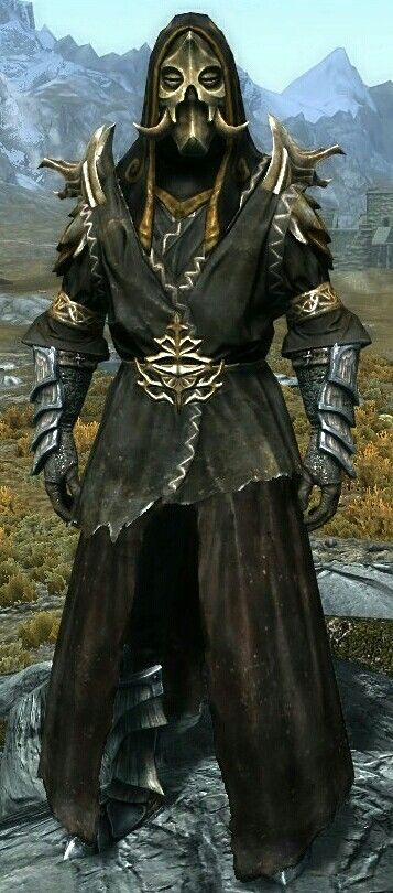 """Dragon Sage"" by Sage  Miraak's Robes  Dragonscale Gauntlets and Boots  Konahriik"