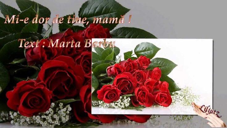 Mi-e dor de tine, mamă !