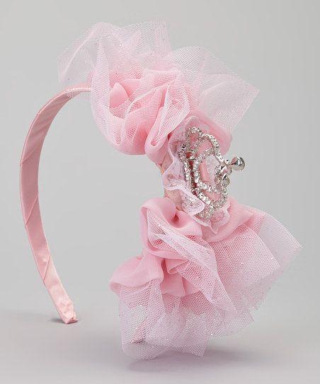 Pink Tiara Headband.